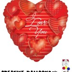 17707 Valentine's Day Foil Balloons - Creative Balloons Mfg. Inc