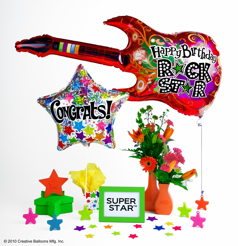100 gram Super Star Heavy Balloon Weight Neon Glamour | Star Balloon Weight | Creative Balloons Mfg Inc