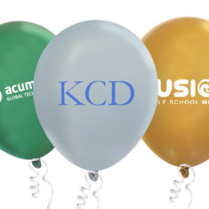 Custom Printed Metallic Latex Balloons - Creative Balloons Manufacturing