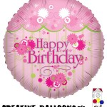 17760 Happy Birthday Foil Balloons - Creative Balloons Mfg. Inc