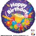 17762 Happy Birthday Foil Balloons - Creative Balloons Mfg. Inc