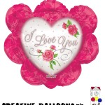 17847-14 I Love You Shaped Foil Balloons - Creative Balloons Mfg. Inc