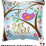 19215-18 Get Well Foil Balloons - Creative Balloons Mfg. Inc