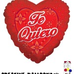 34152 Te Quiero Spanish Foil Balloons - Creative Balloons Mfg. Inc