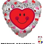 34462-09 9 Inch Valentine's Day Spanish Foil Balloons - Creative Balloons Mfg. Inc
