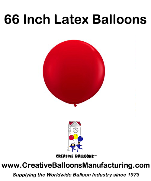 66 Inch Latex Balloons Wholesale CreativeBalloonsManufacturing.com
