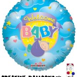 20052 Welcome Baby Foil Balloons - Creative Balloons Mfg. Inc