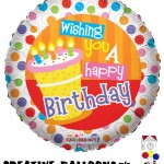 20116 Happy Birthday Foil Balloons - Creative Balloons Mfg. Inc