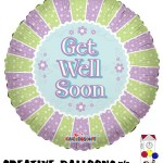 20200-18 Get Well Soon Foil Balloons - Creative Balloons Mfg. Inc