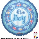 20201-18 It's A Boy Foil Balloons - Creative Balloons Mfg. Inc