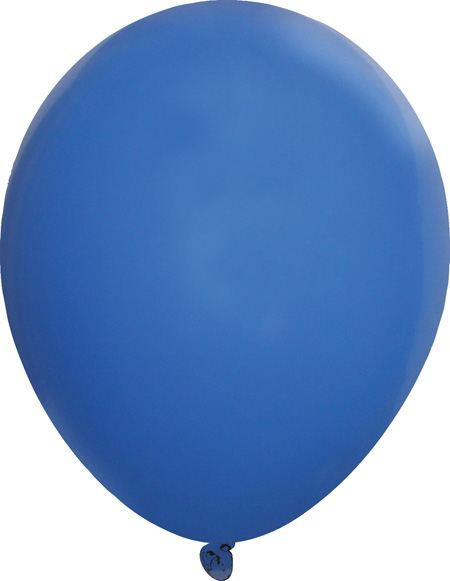 Standard Royal Blue Latex Balloons - Creative Balloons Manufacturing