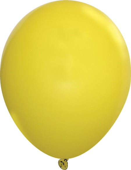 Standard Yellow Latex Balloons - Creative Balloons Manufacturing