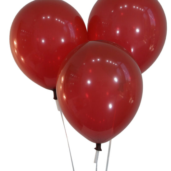 Decorator Burgundy Wine Latex Balloons - Creative Balloons Manufacturing