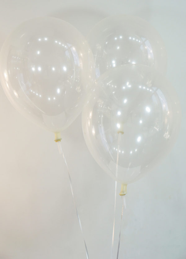 Decorator Clear Latex Balloons - Creative Balloons Manufacturing