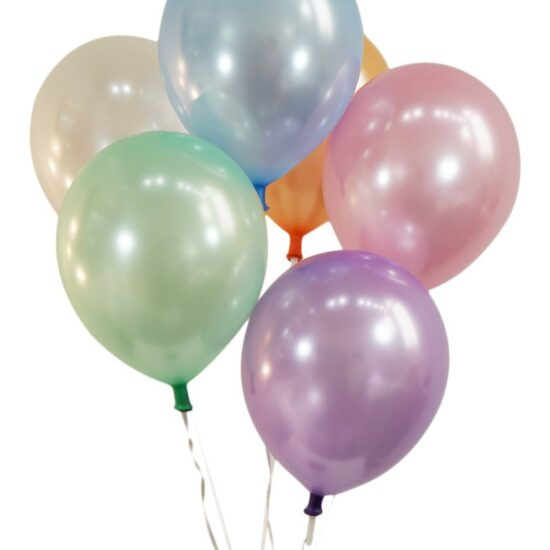 Pearlized Assorted Color Latex Balloons - Creative Balloons Manufacturing