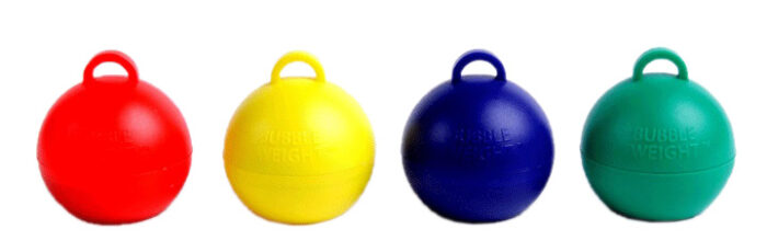 35 gram Bubble Weight Primary-Plus Assortment Balloon Weights